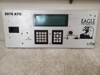 Eagle 2070 ATC Advanced Transportation Traffic Control System Face Plate Panel