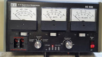 E-C Apparatus Corporation EC 500 Electrophoresis Power Supply