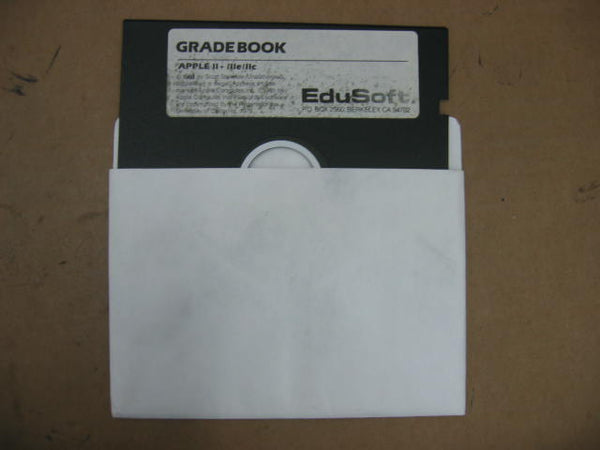 EduSoft GradeBook Apple Version Educational Software