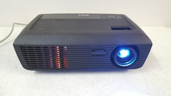 Dell 1410X 050KV6 LCD Digital Multimedia 408 Lamp Hours Projector Parts/As Is