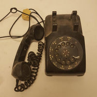 Western Electric Bell System Black Rotary Telephone Vintage Phone