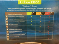 Cisco Linksys E1000 Wireless N Router