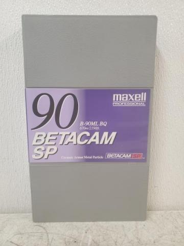 NEW Maxell Professional B-90ML BQ 90 670m/2198ft Betacam SP Tape