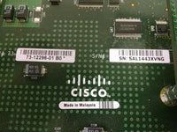 Cisco WS-X6724-SFP 24 Port Gigabit Module w/ WS-F6700-CFC-V06 Daughter Board
