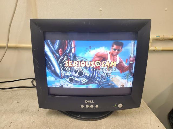 Vintage Gaming Dell E773c 0J9235 VGA CRT Computer Monitor Black