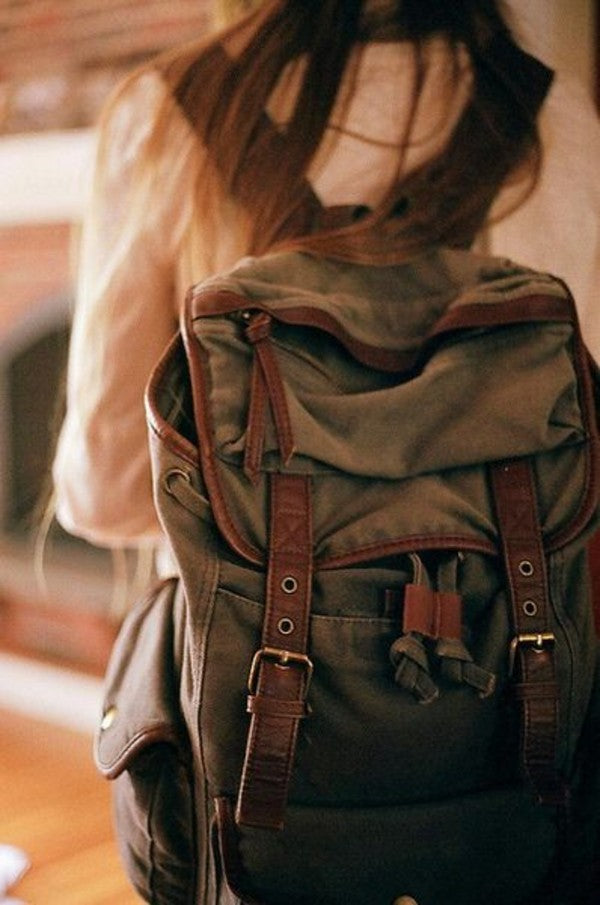 A #backpack makes #traveling much easier!