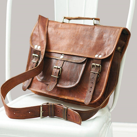 Vintage-Style-Leather-Satchel