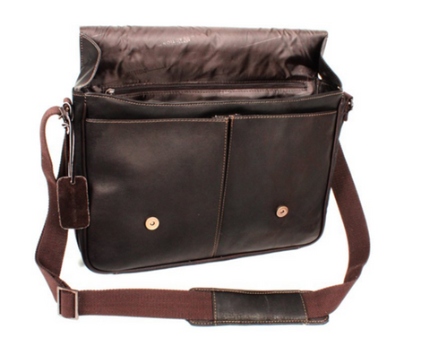 Kenneth-Cole-Leather-Bag
