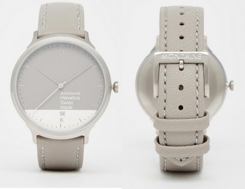 Mondaine-Leather-Strap-Watch