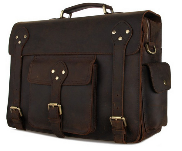 gorgeous SELVAGGIO vintage messenger bag for men and women by Serbags