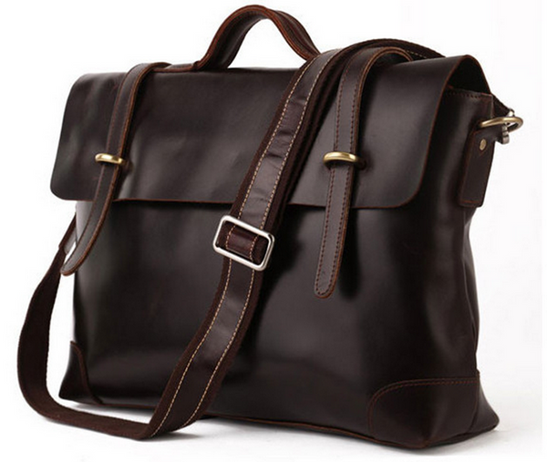 SELVAGGIO Vintage Messenger/Briefcase Bag