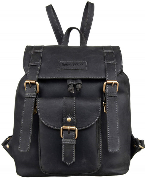 7d8871082b01 Top Quality Full Grain Real Cow Leather Men Women Backpack - Latest Design  Casual and Formal Unisex Backpack