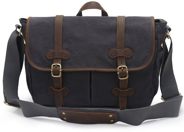 774445a1876 Canvas Messenger Bags for Men - Leather Men s Messenger Bags