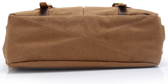 Sleek Laptop & Leather Messenger Bag For Men