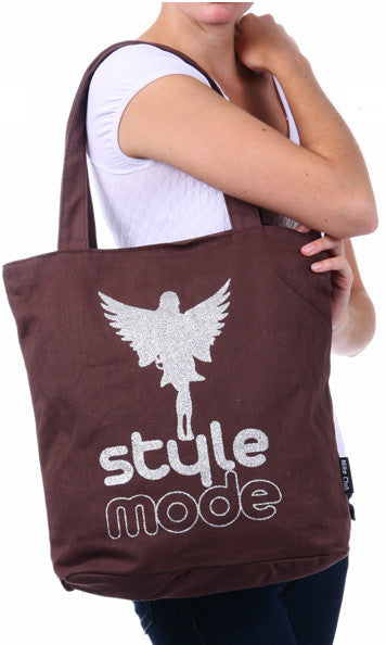 Style Mode Coffee Canvas Tote Bag for Women - Serbags  - 2