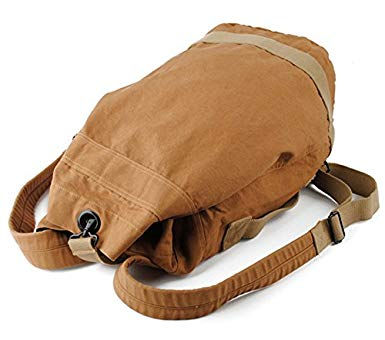 Canvas Duffle bag Vintage Rucksack Hiking Outdoor