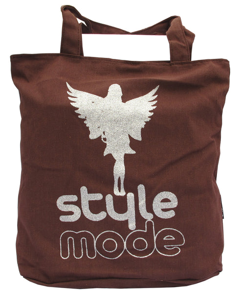 Style Mode Coffee Canvas Tote Bag for Women - Serbags  - 1
