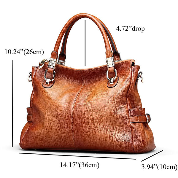 Women's Luxury Urban Style Handbag Top Handle Satchel Shoulder Bag