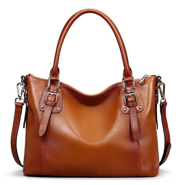 a3e66cac77f9 Women s Vintage Soft Leather Tote Shoulder Handbag