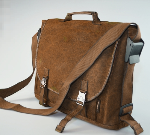 Brown Vintage Style Canvas 14