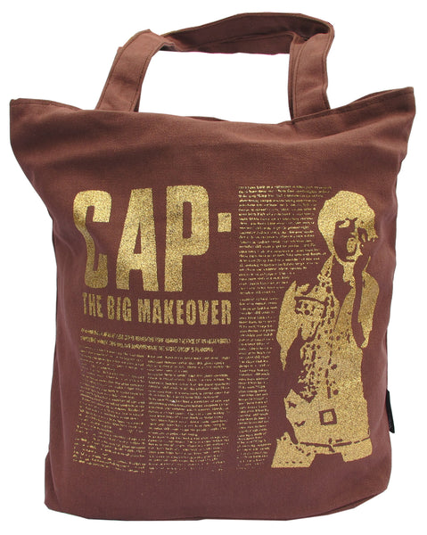 Brown Canvas Tote Bag for Women - Serbags  - 1