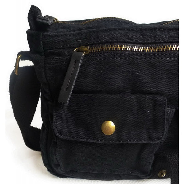 Classic Canvas Shoulder Cross Body Messenger Bag