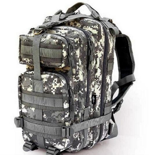 Camouflage Outdoor School Hiking Backpack Oxford Cloth Nylon
