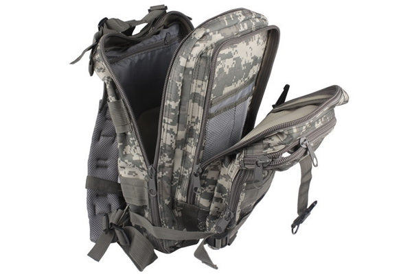 Camouflage Outdoor School Hiking Backpack Oxford Cloth Nylon - Serbags  - 8