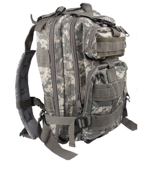 Camouflage Outdoor School Hiking Backpack Oxford Cloth Nylon - Serbags  - 2