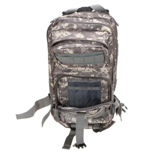 Camouflage Outdoor School Hiking Backpack Oxford Cloth Nylon - Serbags  - 9