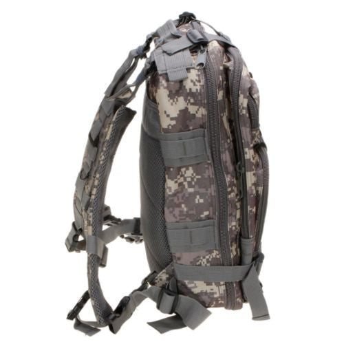 Camouflage Outdoor School Hiking Backpack Oxford Cloth Nylon - Serbags  - 7