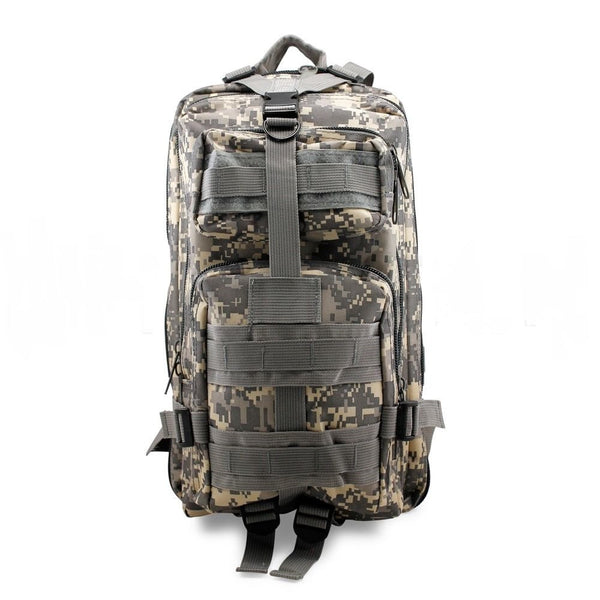 Camouflage Outdoor School Hiking Backpack Oxford Cloth Nylon - Serbags  - 1