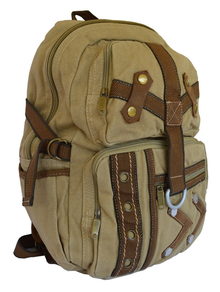 Canvas Traveler Ultimate Gear Backpack with Multiple Compartments - Serbags  - 4