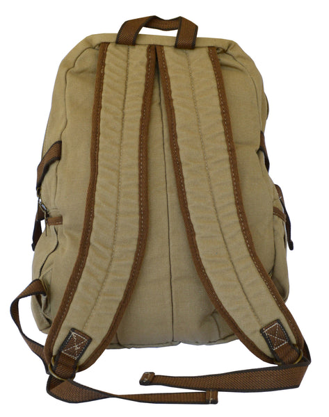 Canvas Traveler Ultimate Gear Backpack with Multiple Compartments - Serbags  - 6