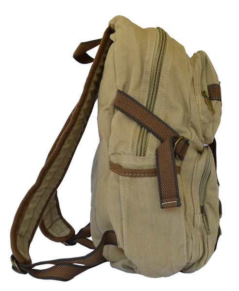 Canvas Traveler Ultimate Gear Backpack with Multiple Compartments - Serbags  - 5