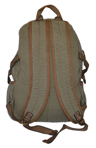Canvas Lightweight Multi-compartment Utility Backpack - Serbags  - 6