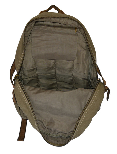 Canvas Lightweight Multi-compartment Utility Backpack - Serbags  - 7