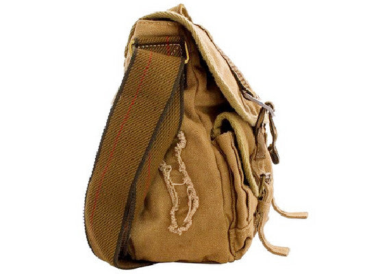 Military Canvas Bike Messenger Bag - Larger Version - Serbags  - 5