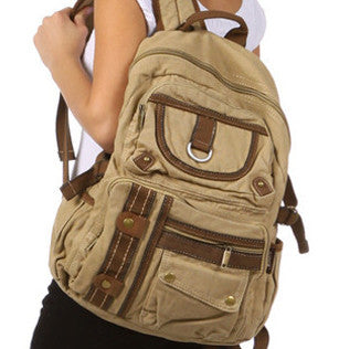 Casual Multi-Compartment 18 inch Utility Backpack - Serbags  - 2