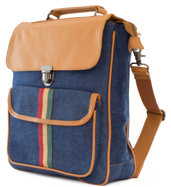 Casual Multifunctional Backpack Messenger Bag - Serbags  - 2