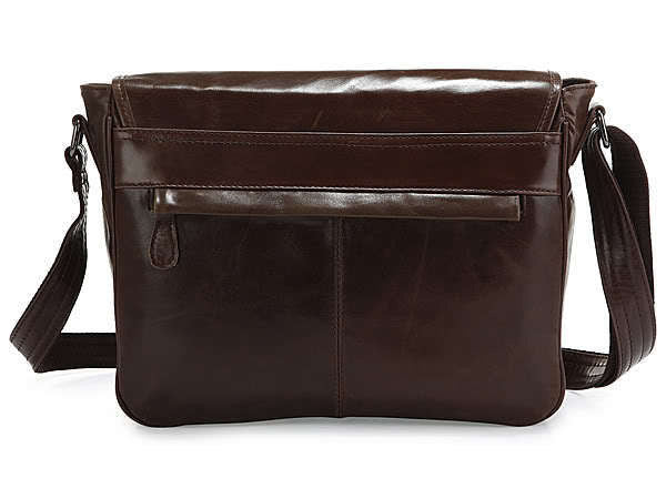 Casual Leather Crossbody Messenger Bag - Serbags  - 7