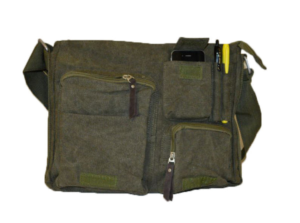 Classic Canvas Messenger Bag - Serbags  - 7