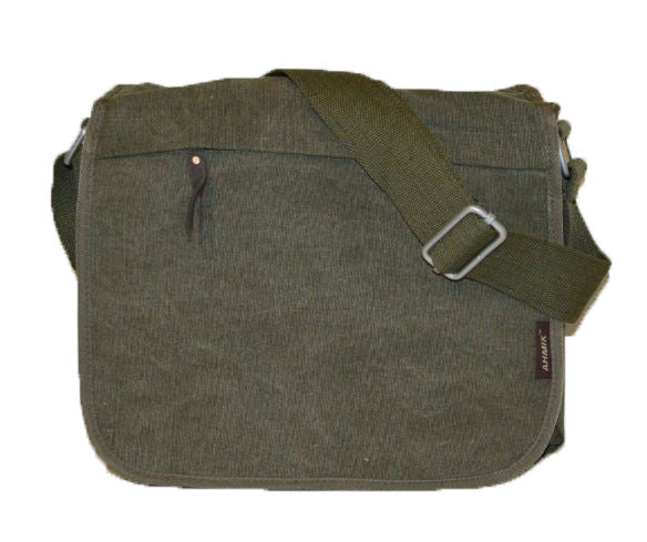 Classic Canvas Messenger Bag - Serbags  - 5