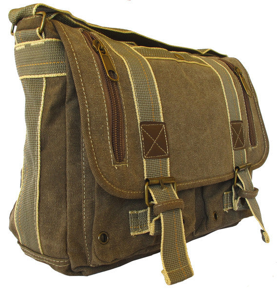 Classic Green Messenger Bag - Serbags  - 2