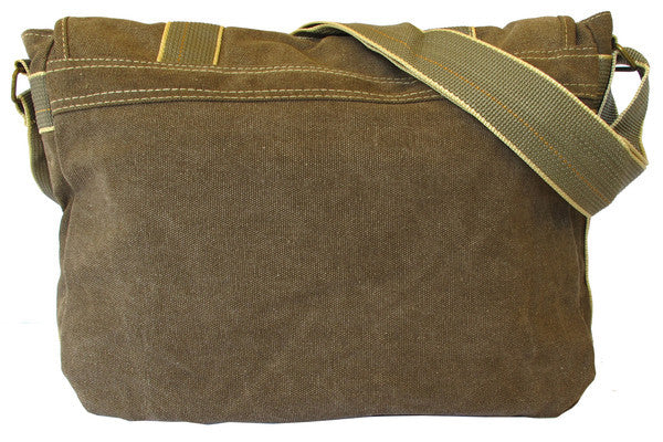 Classic Green Messenger Bag - Serbags  - 4