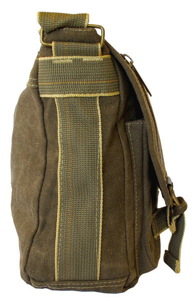 Classic Green Messenger Bag - Serbags  - 3