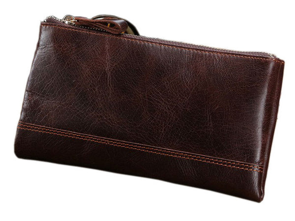 Clutch Organizer Wallet Genuine Leather - Serbags  - 2