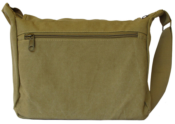 Canvas Travel Cross Body Shoulder Bag - Serbags  - 4