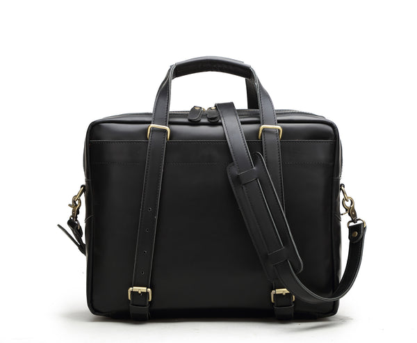 Urban Laptop Leather Brief Office Bag