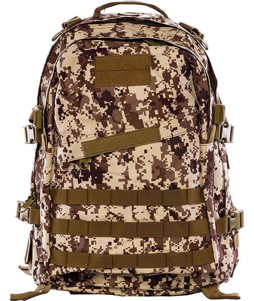 Military Digital Camo Hiking Backpack